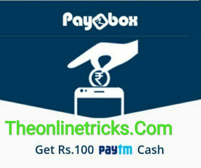 PayBox PayTm Offer