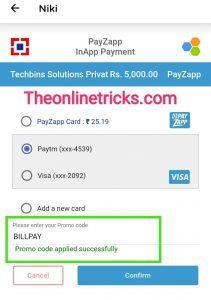 Niki BillPay Offer
