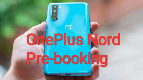 OnePlus Nord Pre-book